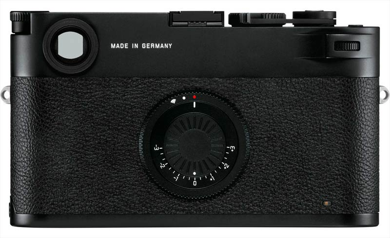 Leica M10-D, dorso