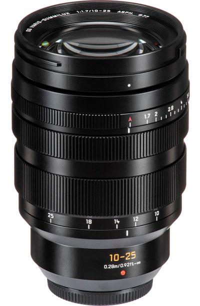 Panasonic-Leica 10-25 mm f/1.7
