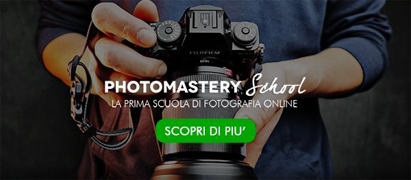 Photomastery School - La prima scuola di fotografia online