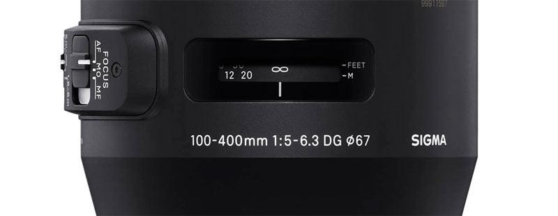 Sigma 100-400 mm 1:5-6.3