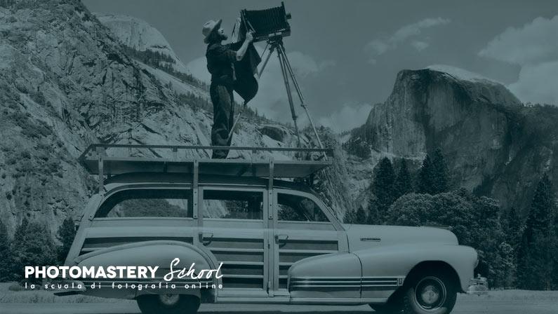 Quando Ansel Adams non trovò l'esposimetro e scattò una delle sue fotografie più famose