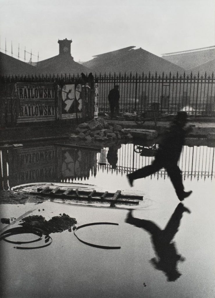 Henri Cartier Bresson - Behind the Gare St. Lazare, 1932