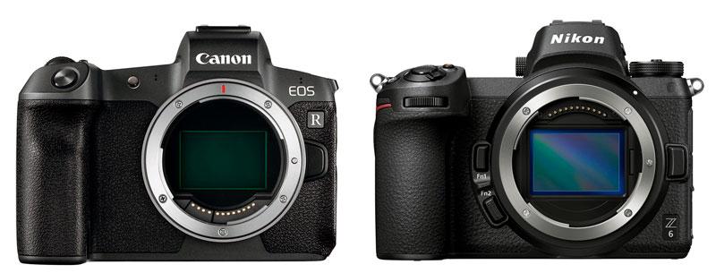 Canon R - Nikon Z6