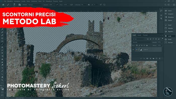 Photoshop | Scontorni PRECISI con il Metodo Lab