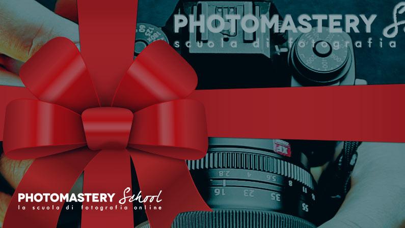 Idee REGALO per fotografi: CORSO di FOTOGRAFIA online