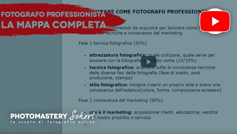 Cosa devi sapere per diventare fotografo professionista